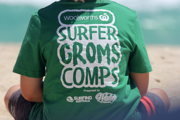 WOOLWORTHS SURFER GROMS COMPS 2018/19 - TRIGG POINT