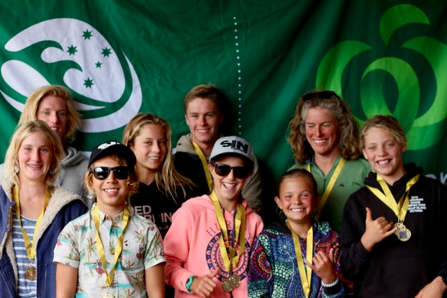 Woolworths TAS State Surfing Titles Rd 2, WINNERS, Bruny Junior Clasic n Open Longboard, presented by HIF.