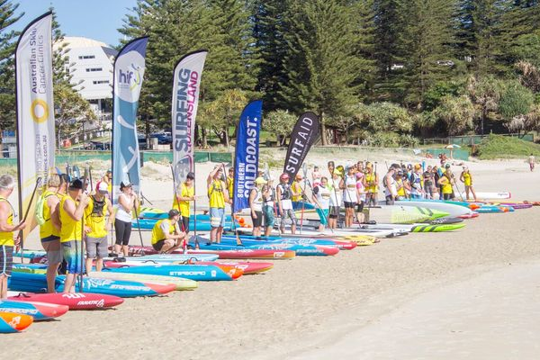 Marathon Racing (QUALIFICATION) - 2018 Australian Skin Cancer Clinics Immerse SUP Paddle Festival