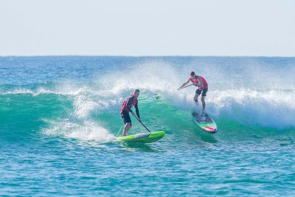 TECHNICAL RACING (QUALIFICATION) - 2018 Australian Skin Cancer Clinics Immerse SUP & Paddle Festival