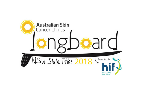2018 Australian Skin Cancer Clinics NSW Longboard State Titles Pres. ECS Boards