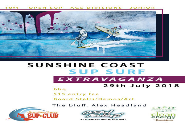The Sunshine Coast SUP Surf Extravaganza 2018