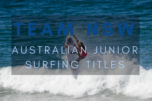 TEAM NSW - Surf Dive N Ski Australian Junior Surfing Titles