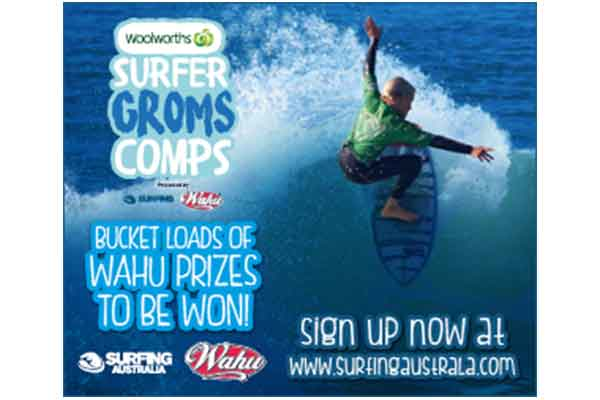 Woolworths Surfer Groms Comps presented by Wahu 2017/18 - Sunshine Coast