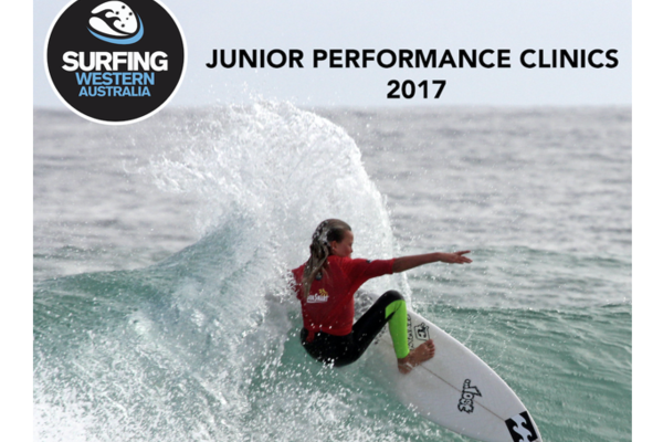 Surfing WA State Performance Clinics 2017 presented by The Department of Local Government, Sport and Cultural Industries