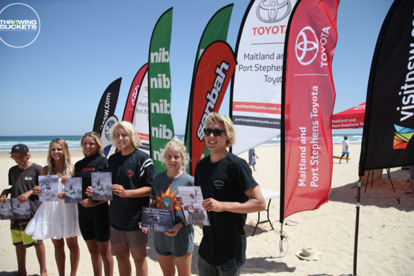 Port Stephens Toyota Surfest 2018 Wild Card Trials
