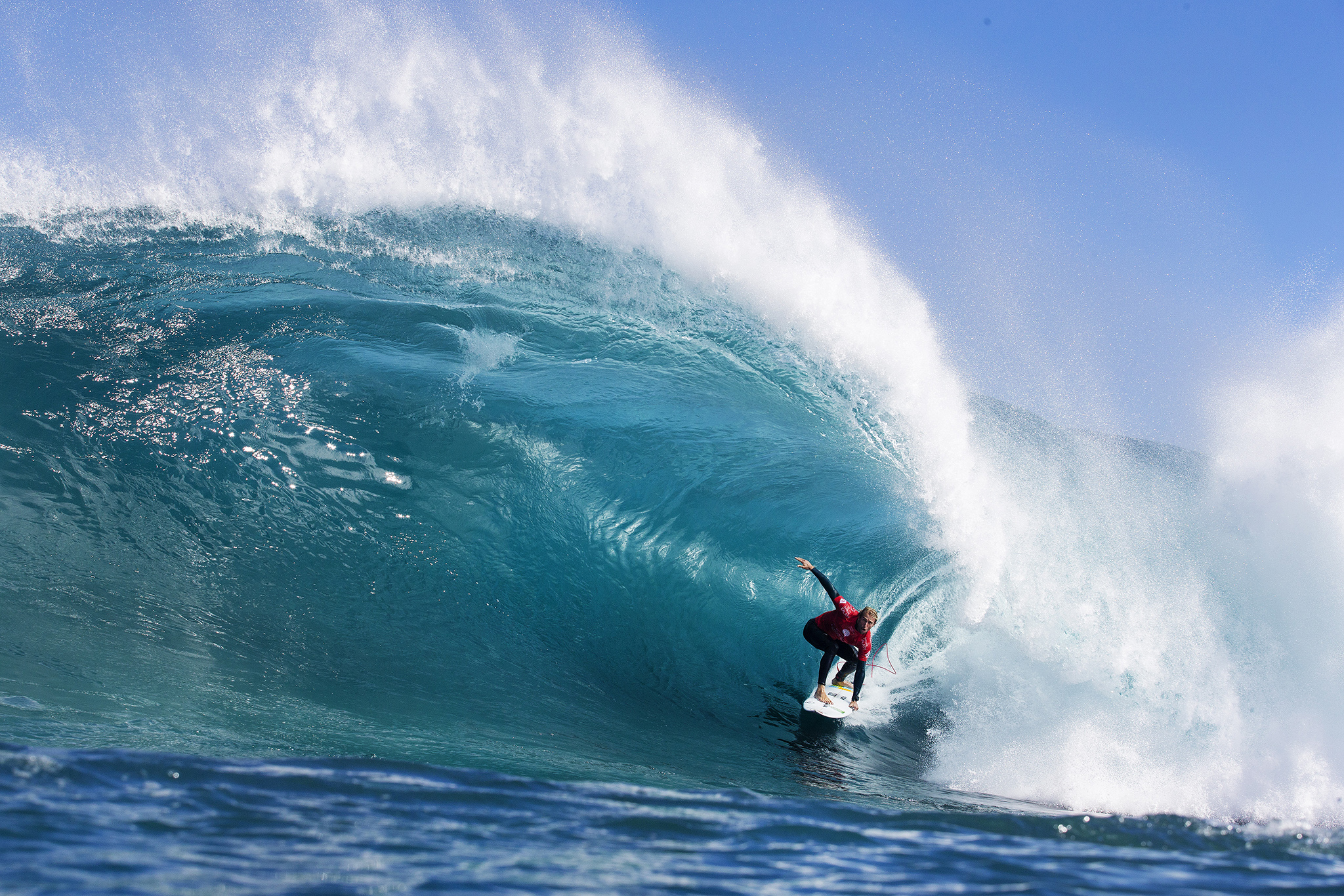 Owen Wright S Box Barrel Claims Wsl Wave Of The Year