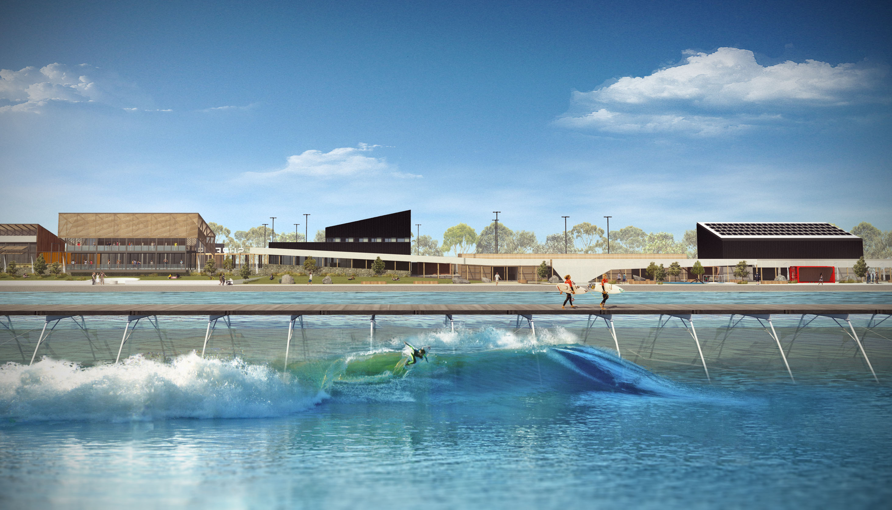 pics URBNsurf Melbourne: Australias First Ever Man-Made Wave Pool