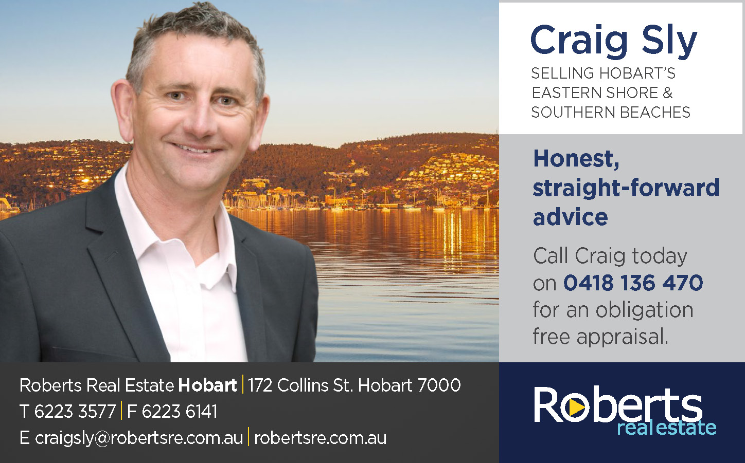 Craig Sly   Roberts Real Estate