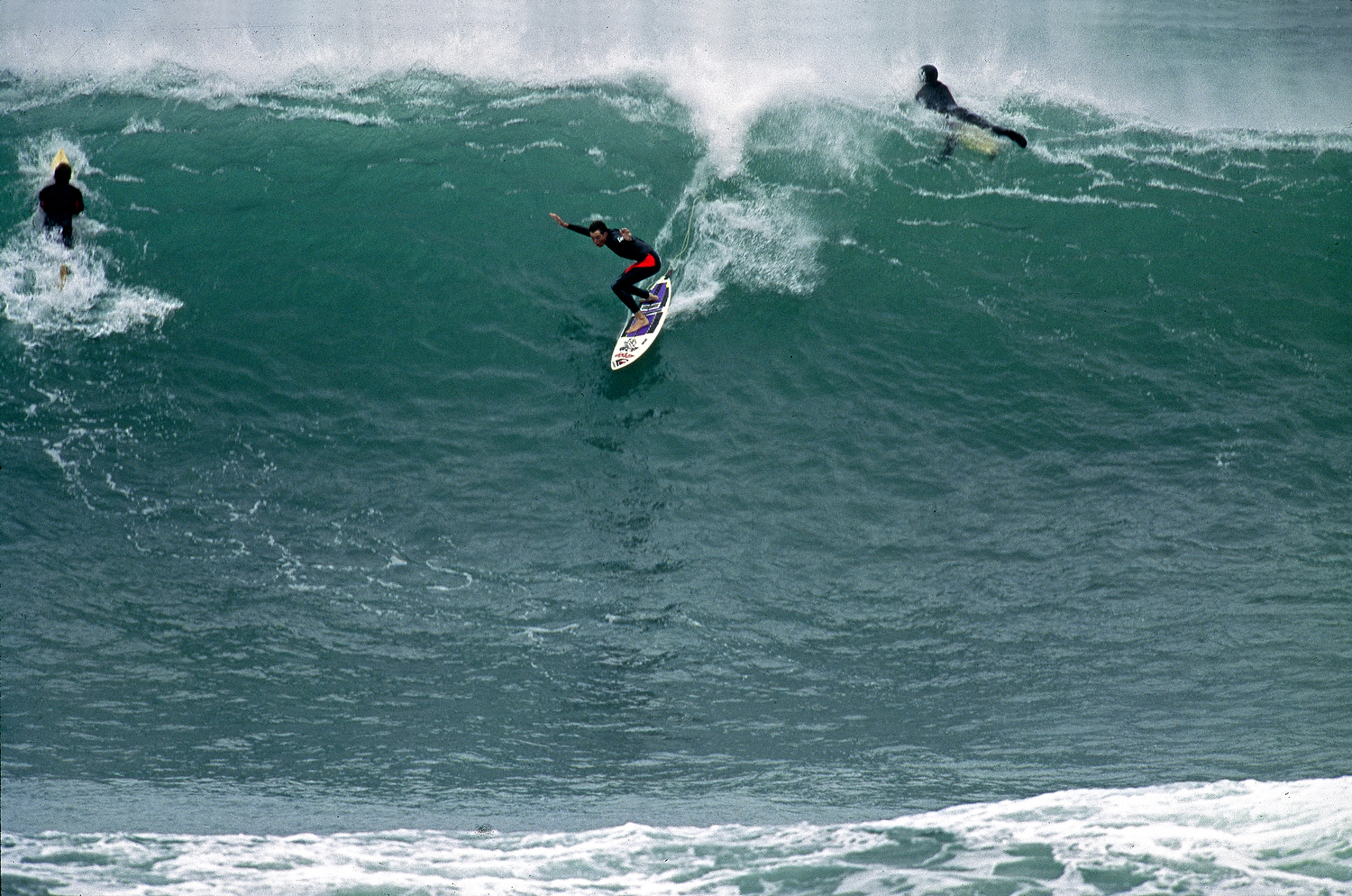 The 50 Year Storm Brews At Bells Beach Surfing Vic