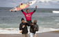 Otis Carey and Summer Simon claim top honours at the Australian Indigenous Surfing Titles Bells Beach