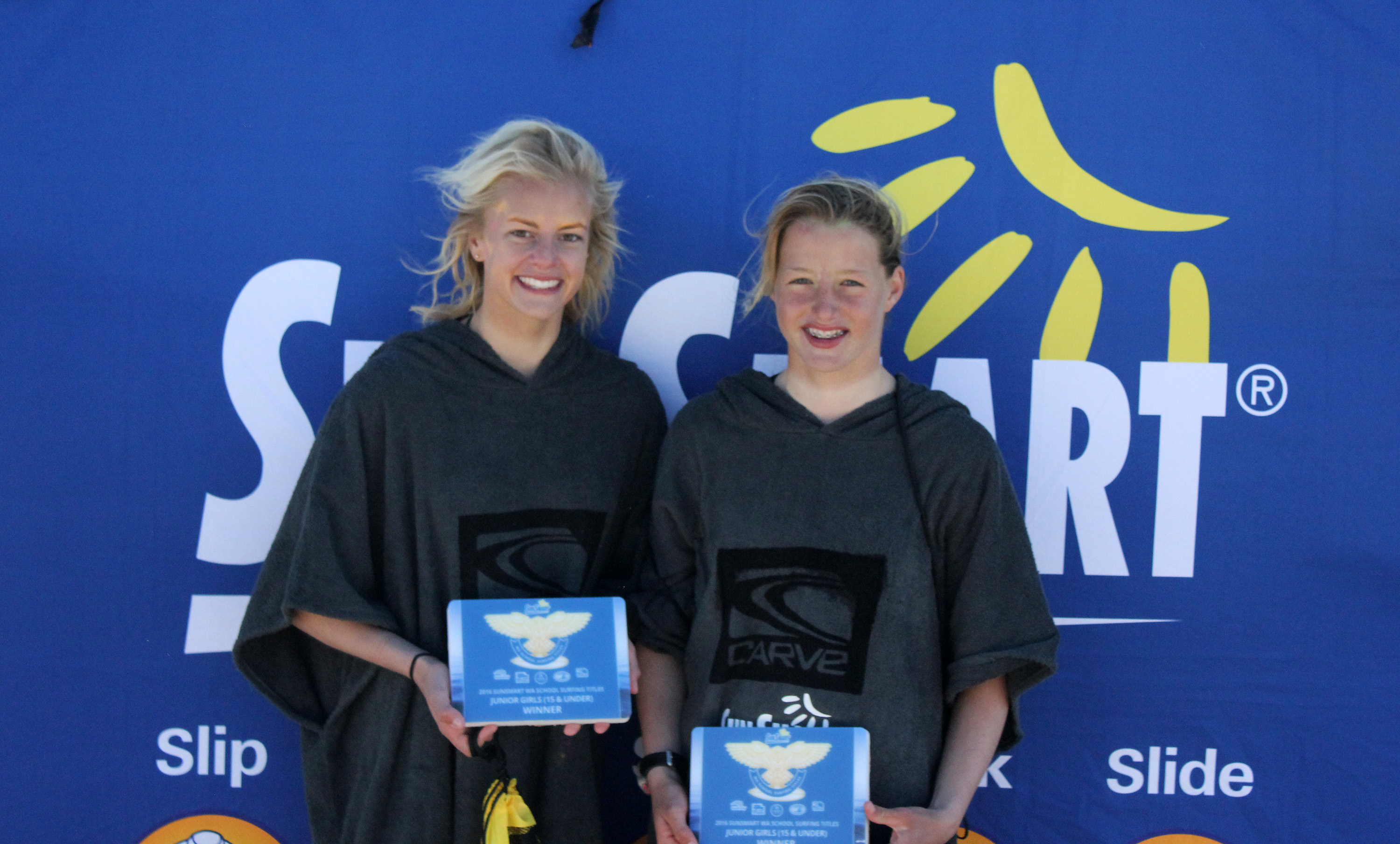 Junior Girls Surf Winners   Mandurah Catholic Majeks