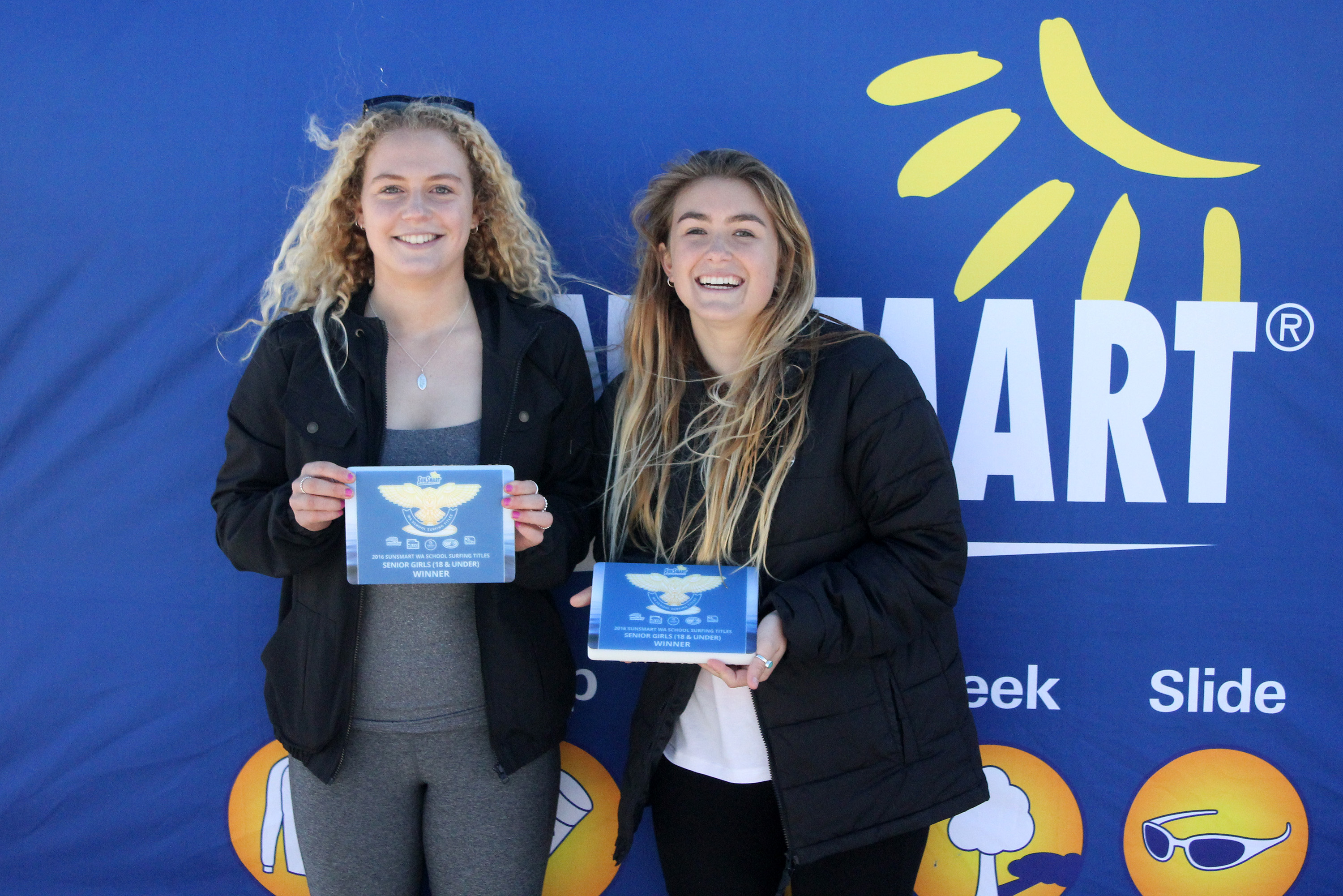 Senior Girls Surf Winners   Mrshs Majeks