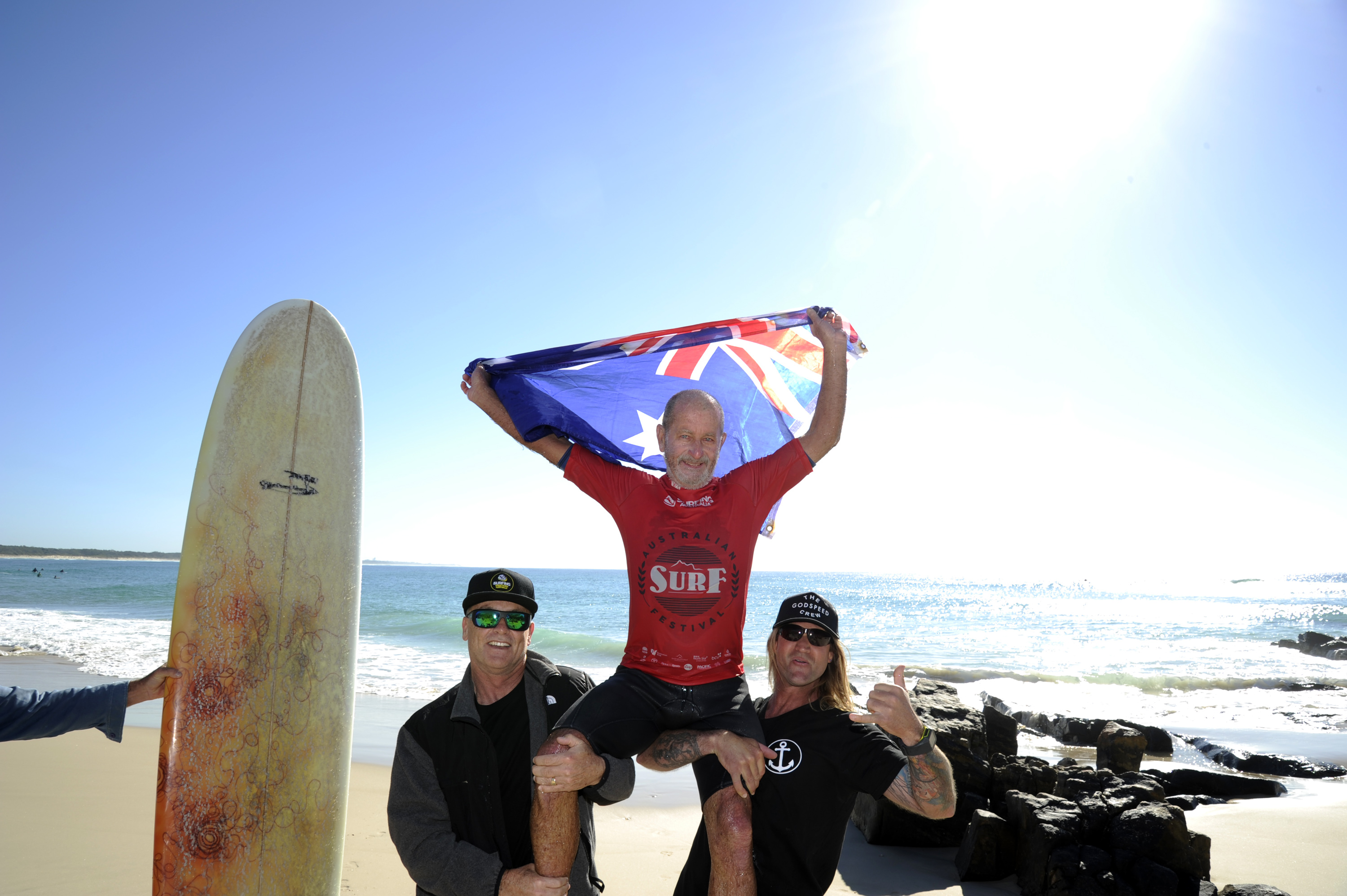 Yallingup's Bob Monkman Wins Over-60 Men's Australian Longboard Title. Surfing Aus