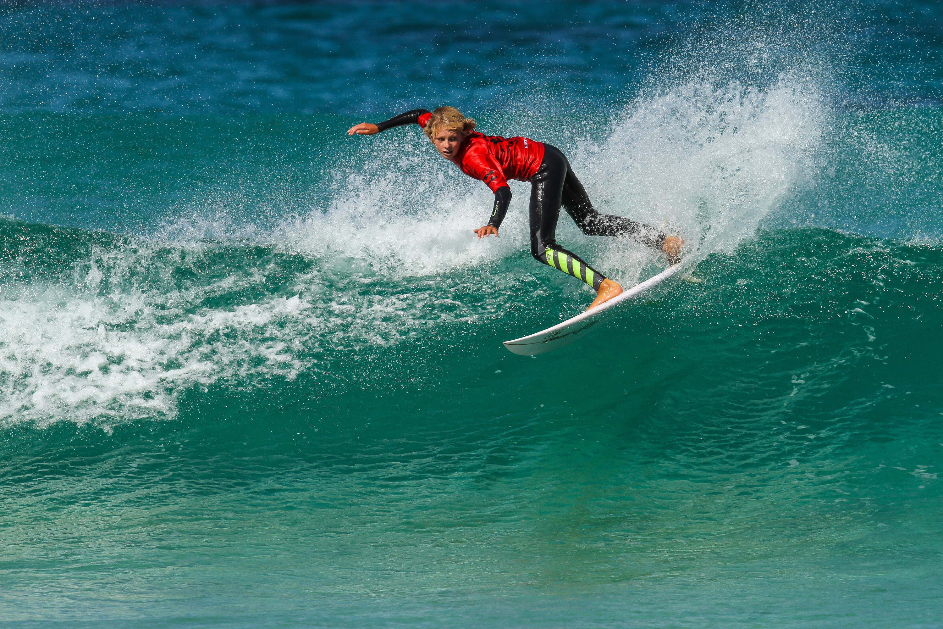 2017 Wa Junior Surfing Team Finn Cox Margaret River Woolacott