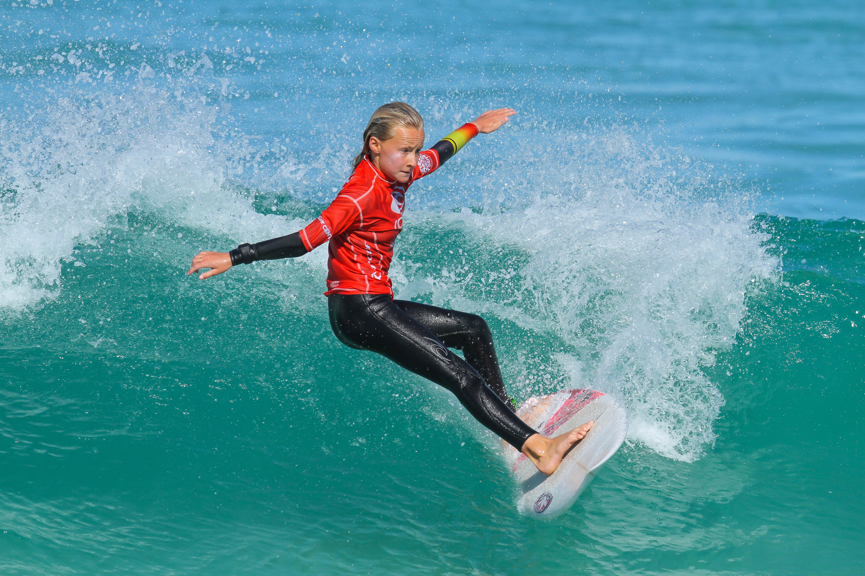 2017 Wa Junior Surfing Team Zali Hewson Margaret River Woolacott