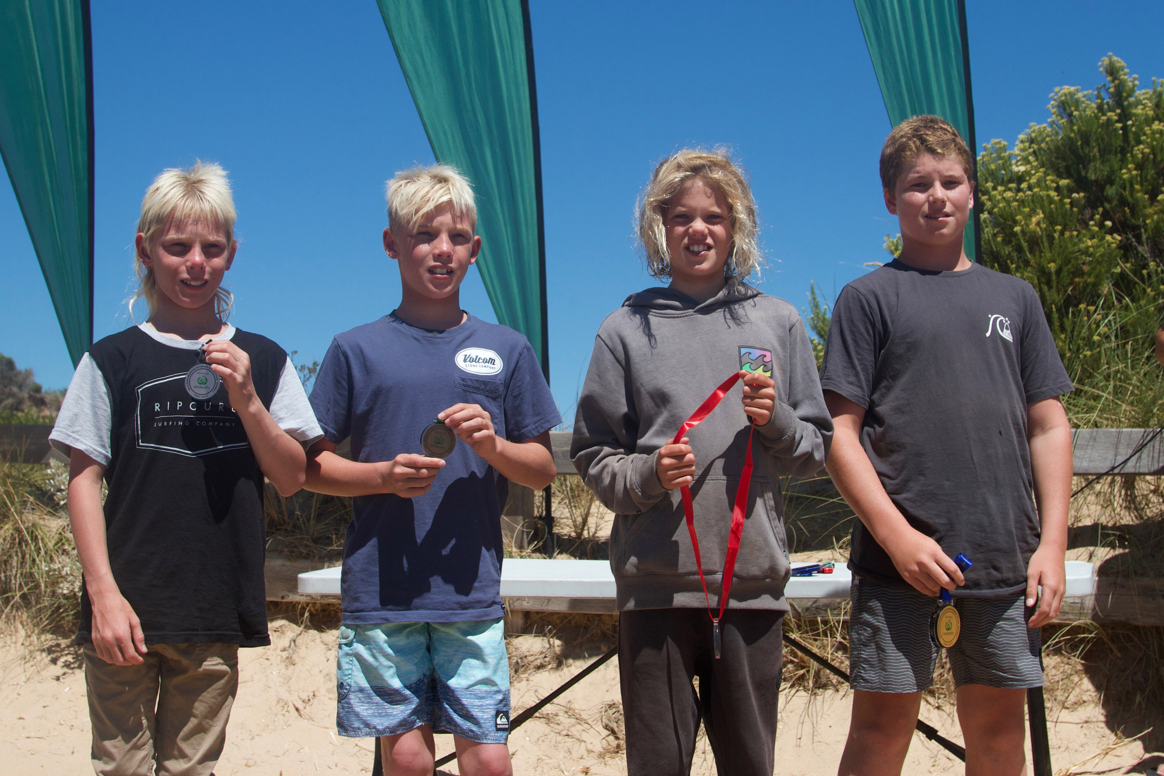 U14 Boys Finalists Img Nathan Rivilland Surfing Victoria