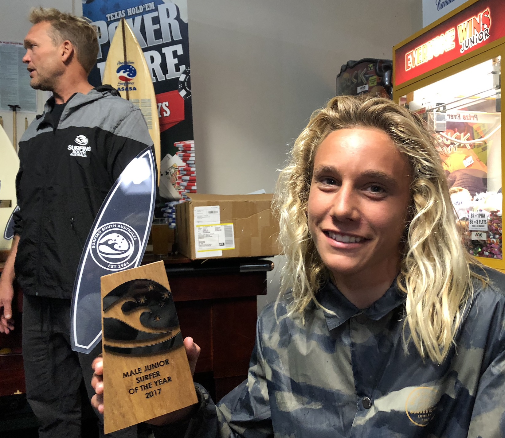 Harry Green Male Junior Surfer Of The Year