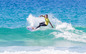 Alister Reginato and Sasha Baker dominate event one of the Woolworths Queensland Junior Surfing Titles