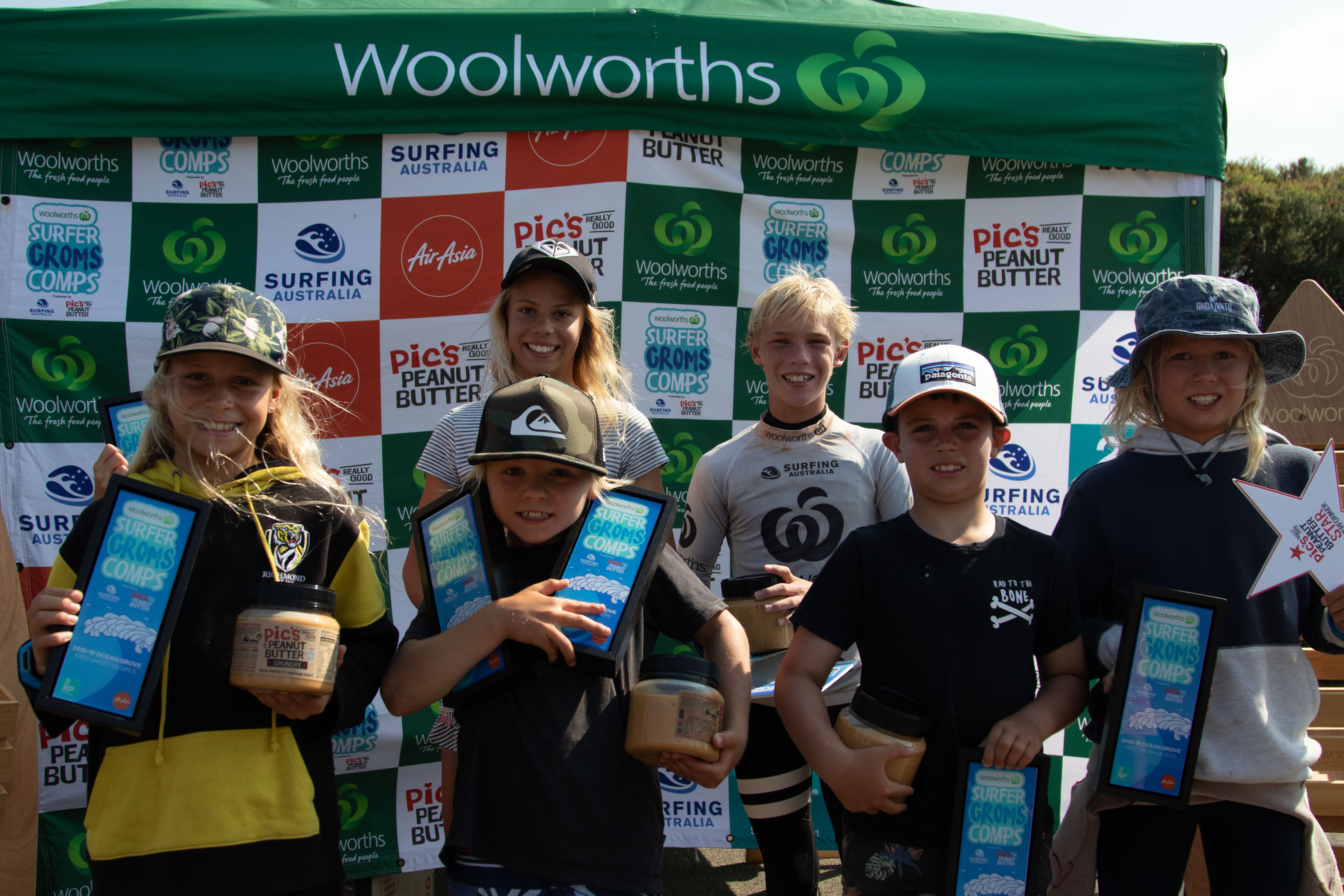 All Winners Woolworths Surfer Groms Comp2019 Zl 033