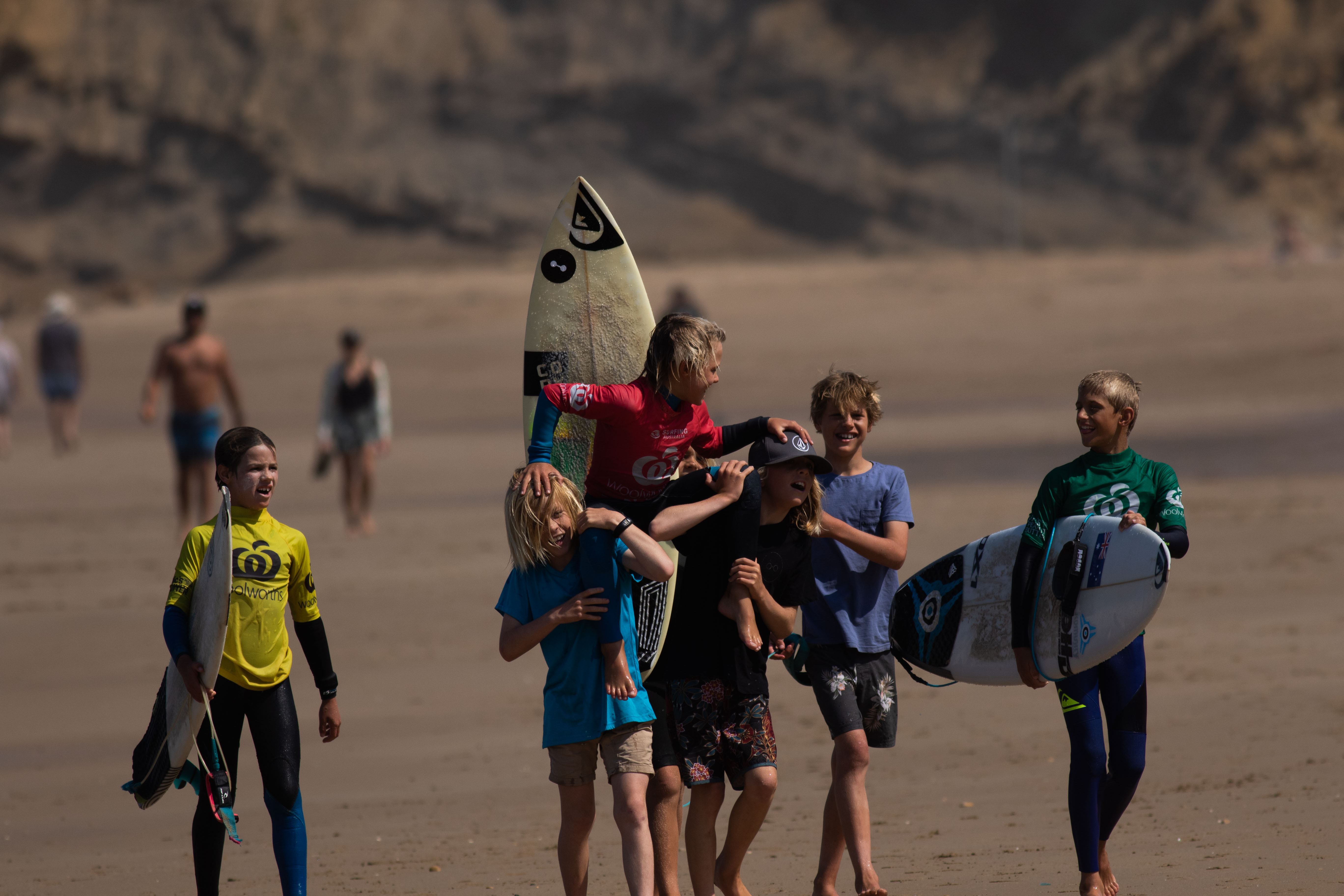 Champion Crowned Woolworths Surfer Grom Comp Zl 015